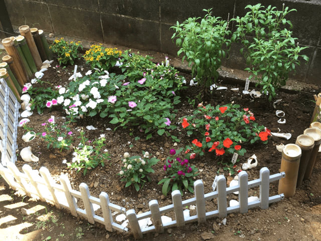 デイサービスみのり台 花壇